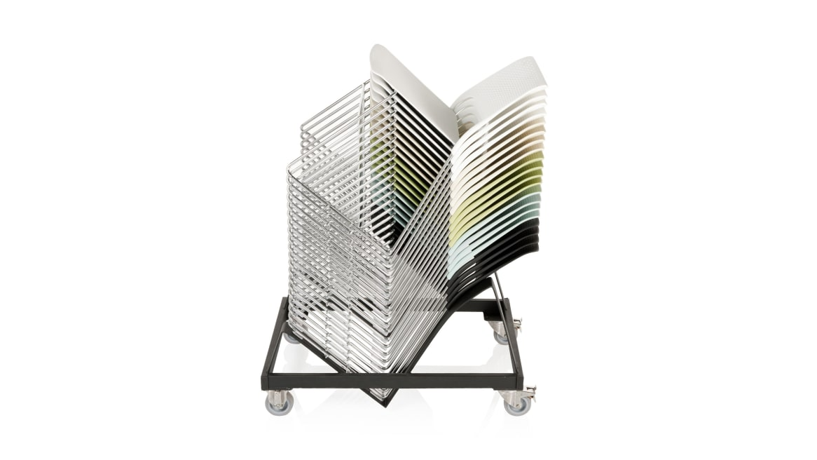 Cors Orangebox Guest Chairs On White