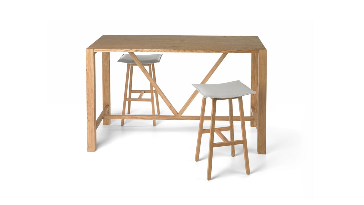 Hench Orangebox Meeting + Classroom Tables On White