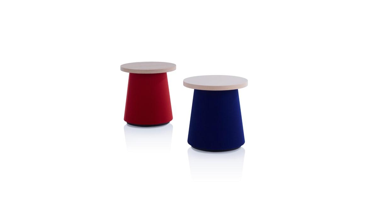 Hep Orangebox Occasional Tables On White