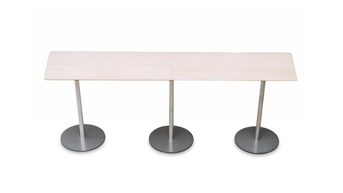 Lock Bar Orangebox Meeting + Classroom Tables on White