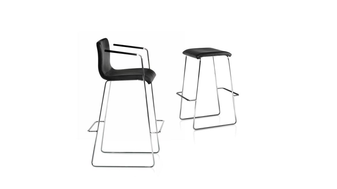Peak Orangebox Guest Chair on White
