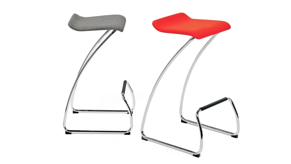 Spring Orangebox Guest Chairs On White