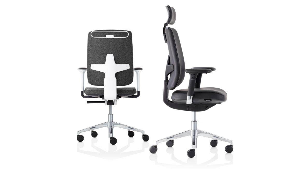 Seren Orangebox Office Chairs On White