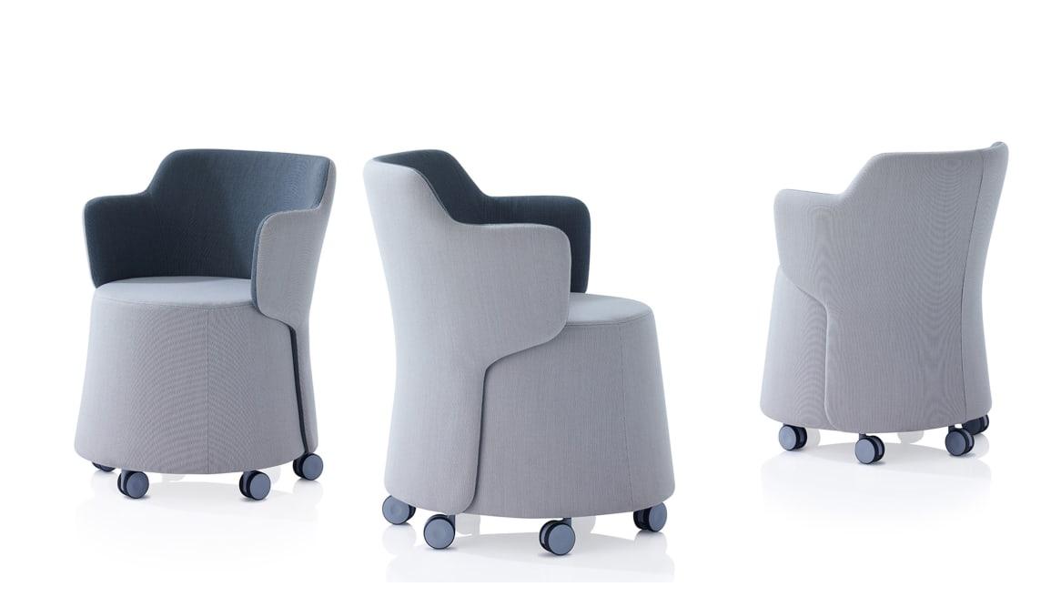 Skomer Orangebox Lounge Seating On White