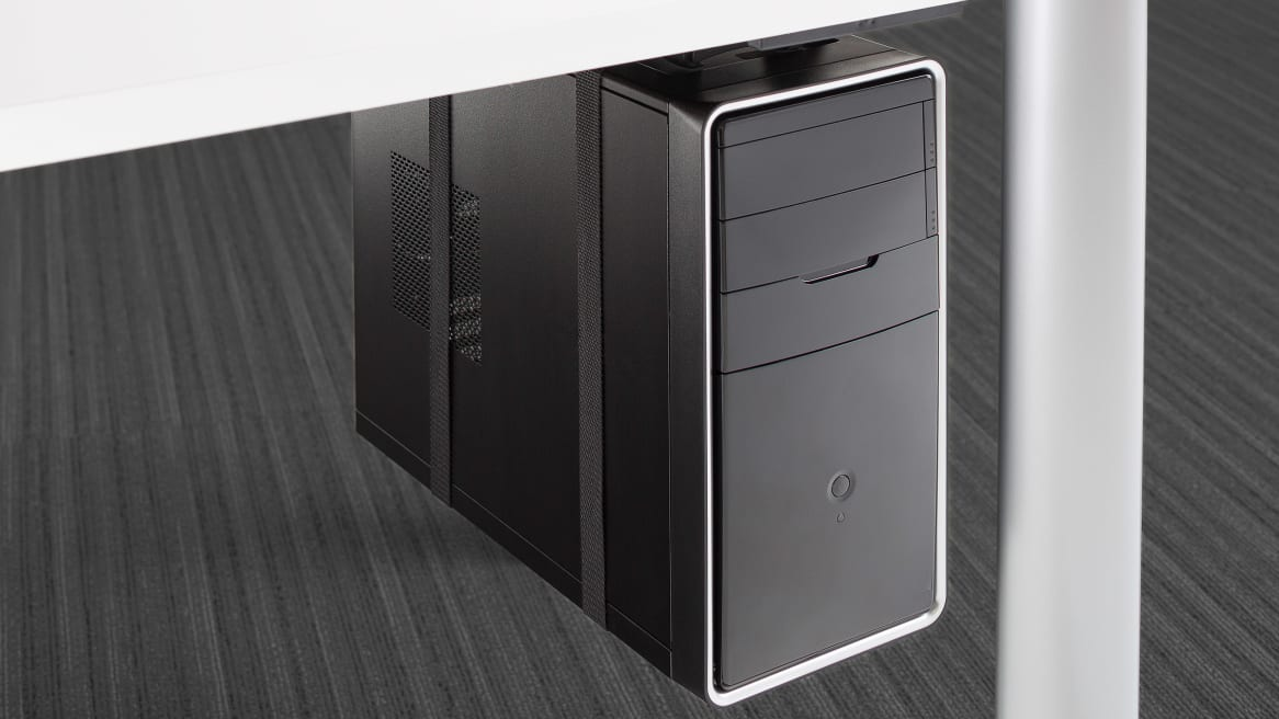 CPU Holder on white background