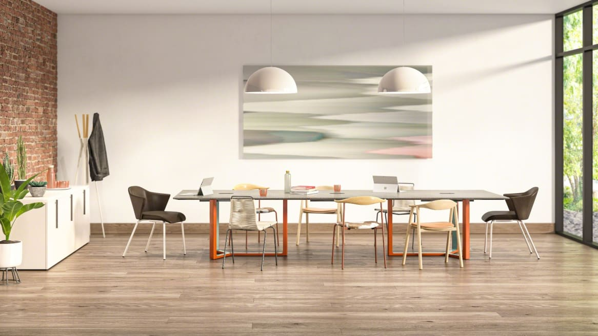 Verlay Conference Room with wooden floor