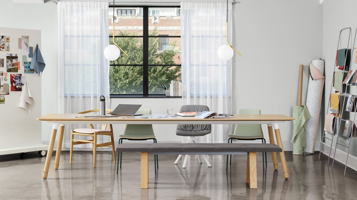 Office with Potrero415 Light Table