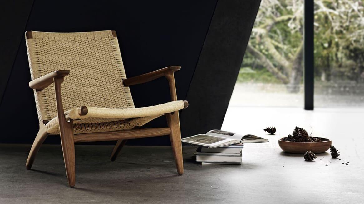 Carl Hansen Paddle Chair CH25, Oak