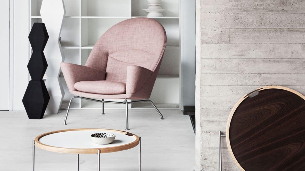 Carl Hansen Oculus Lounge Chair CH468