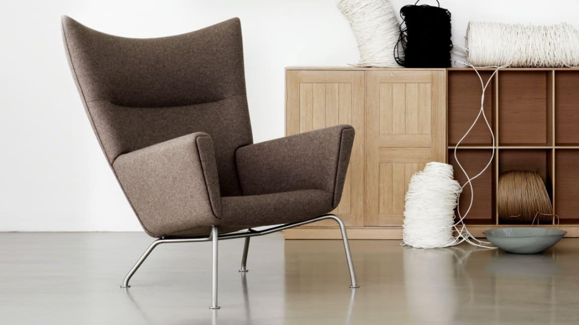 Carl Hansen Wing Lounge Chair CH445