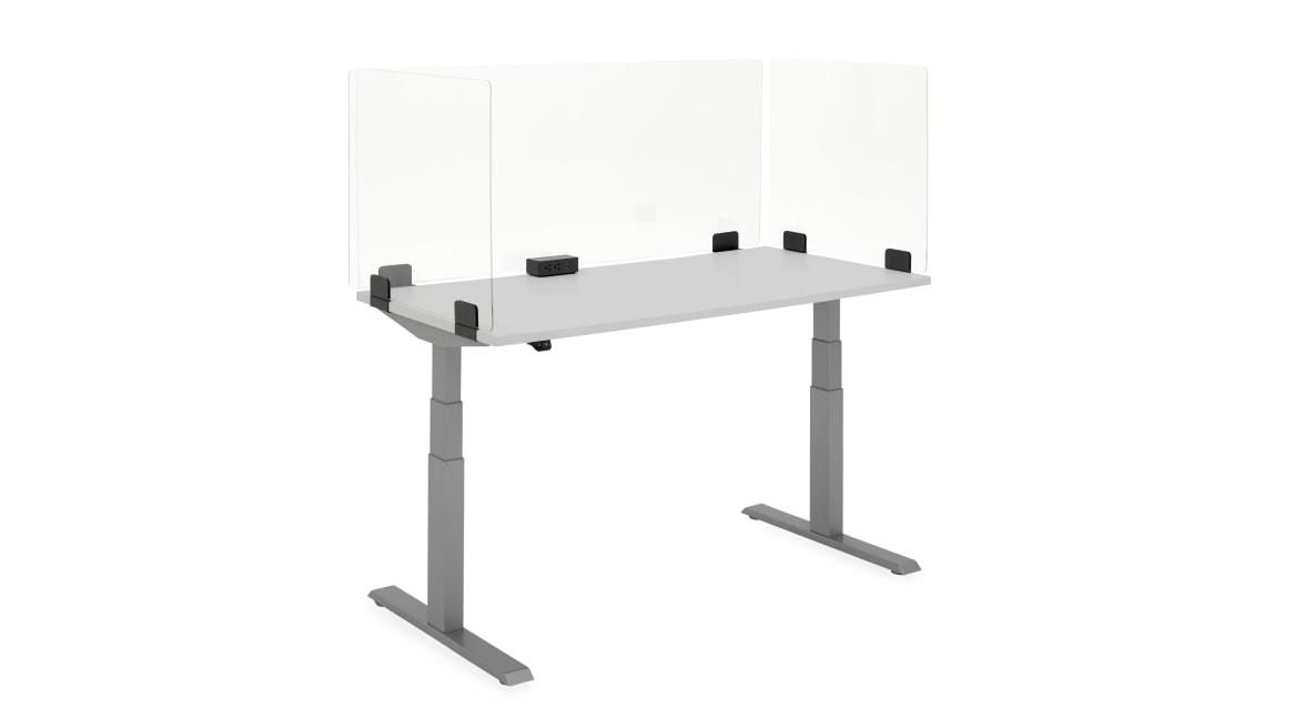 on white Universal Hard Surface Screens