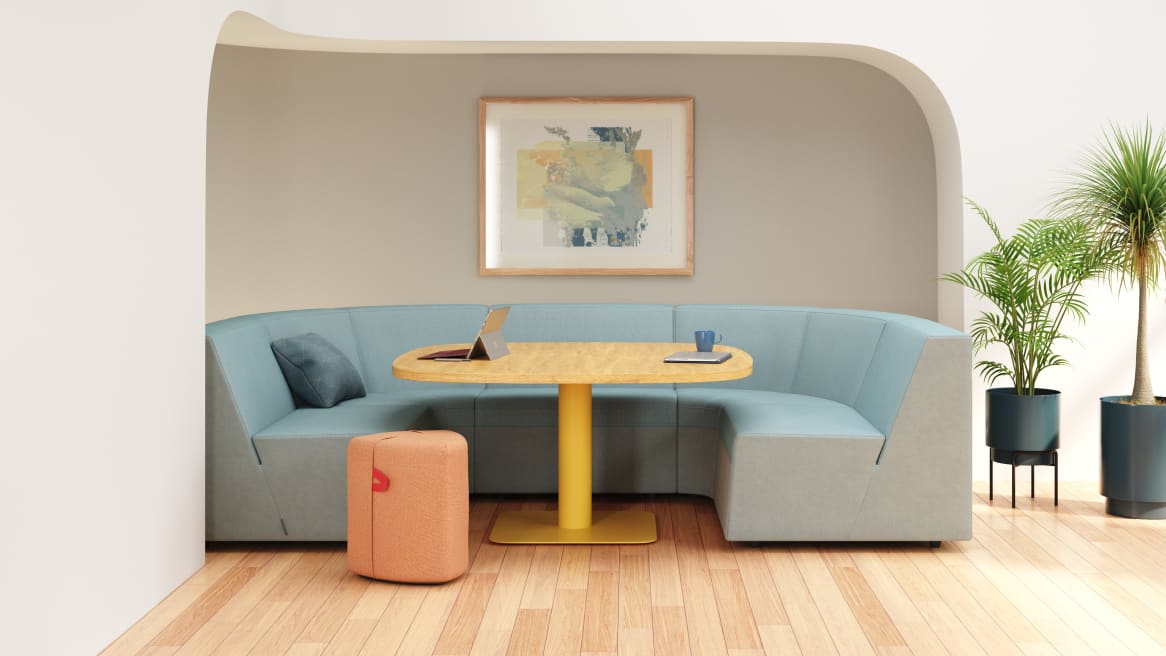 Turnstone, Simple Tables, Soft Square, Soft Rectangle, Simple Personal Table
