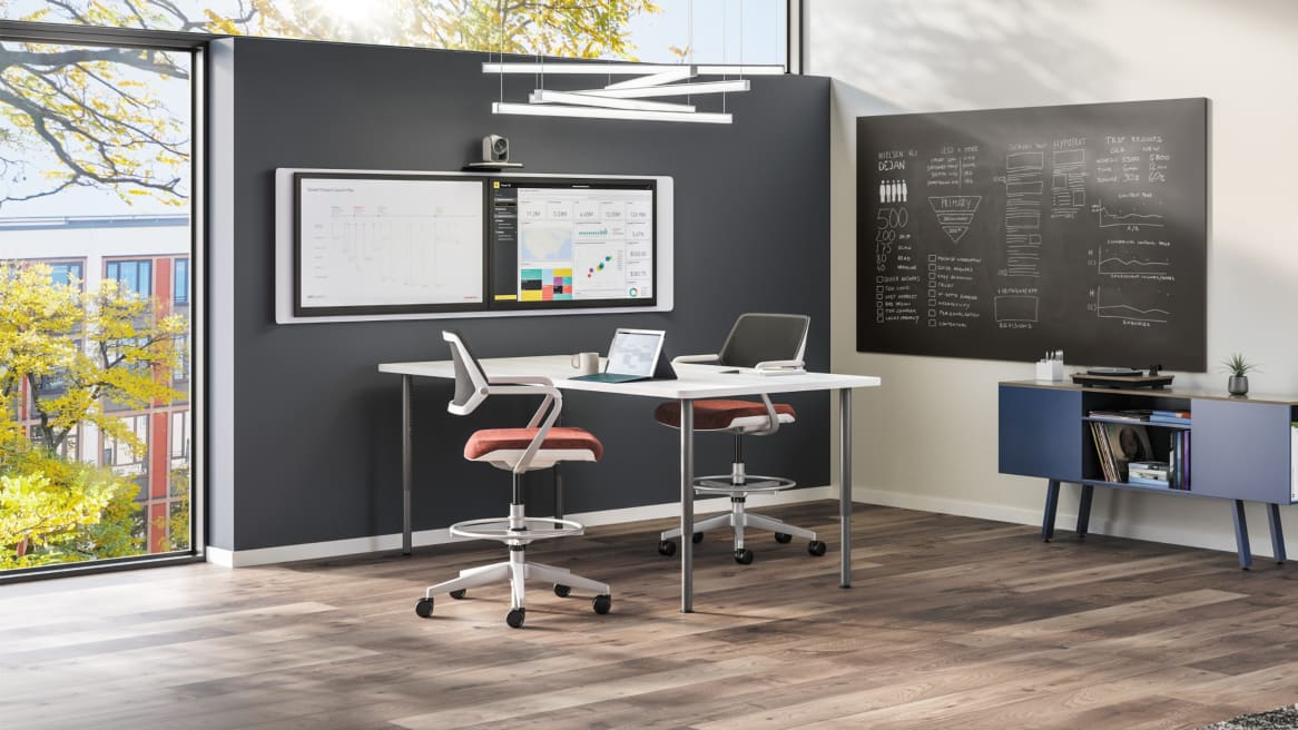 collaborative space with groupwork