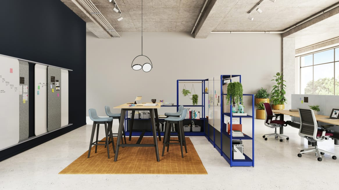 EMEA Flex Active Frames in workplace environment