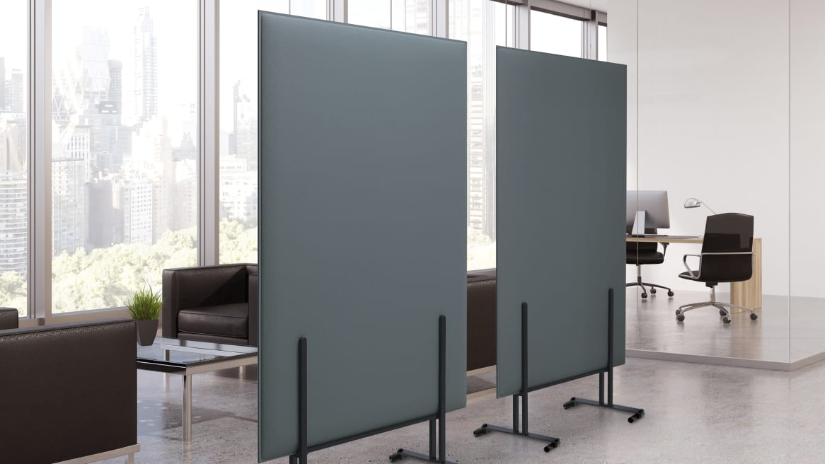 PLI Over Screen Frame with Casters