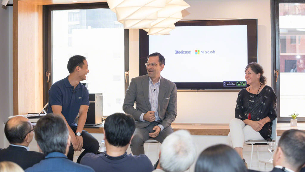 Steelcase and Microsoft Tokyo Launch