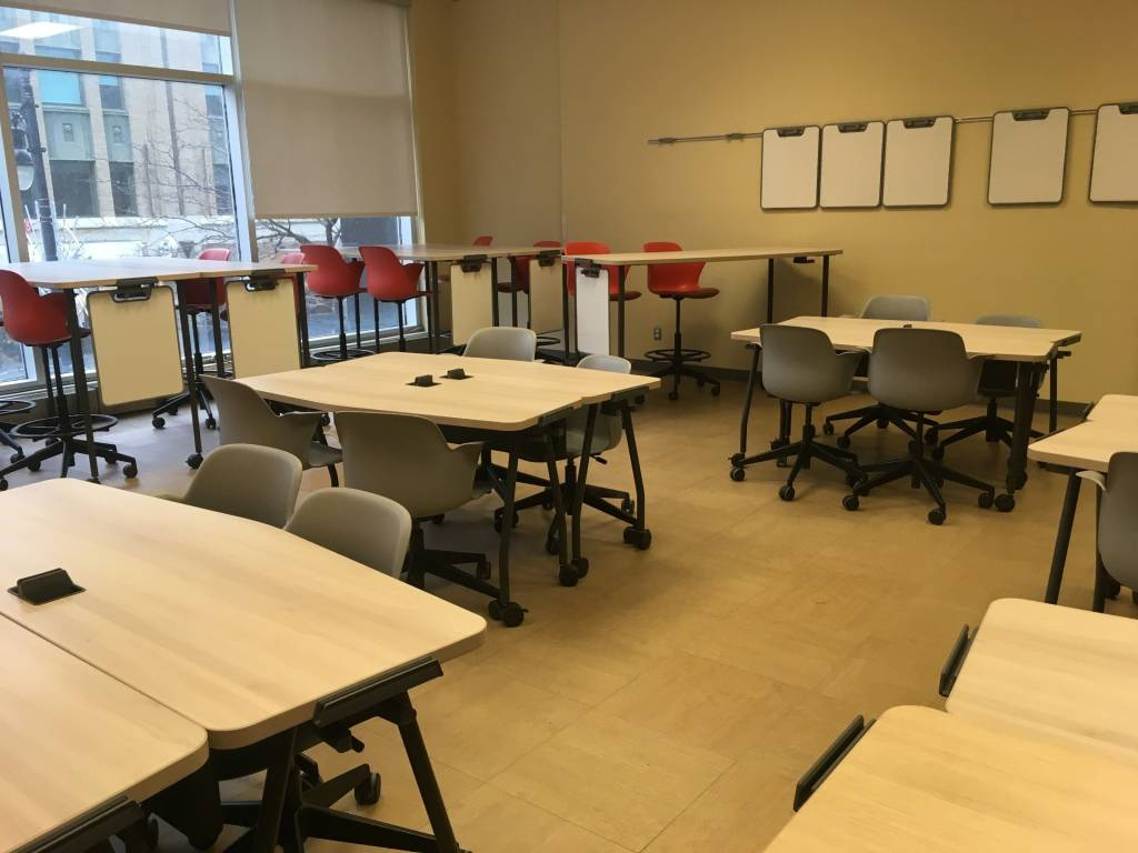 Universal Design Ideas For The Classroom ~ Active learning fosters soft skills in students steelcase