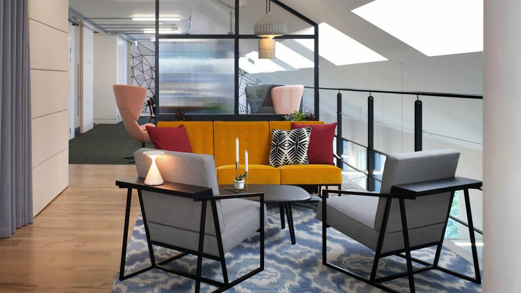 office lounge setting