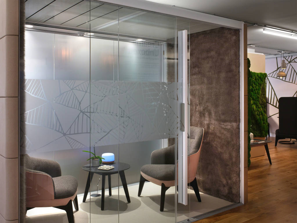 enclave - closed office space