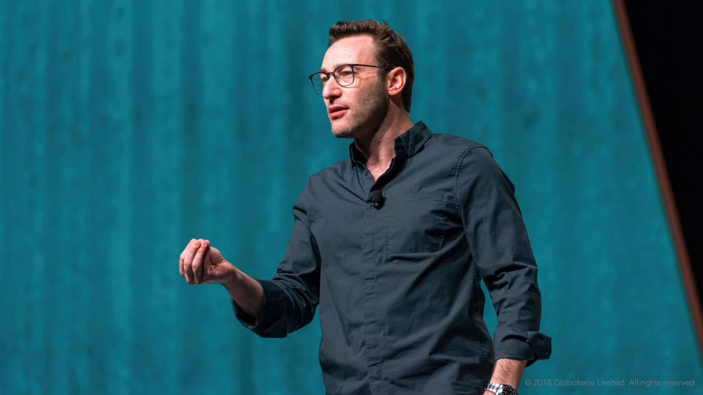 Simon Sinek speaking