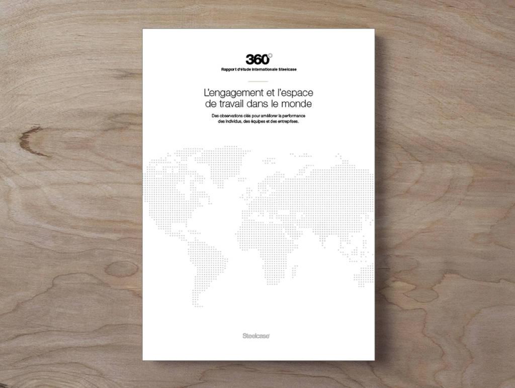 Rapport d'étude internationale : l'engagement et l'espace de travail dans le monde