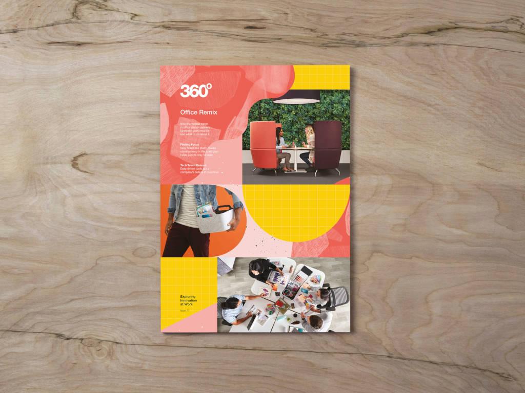 360 Magazine cover graphic