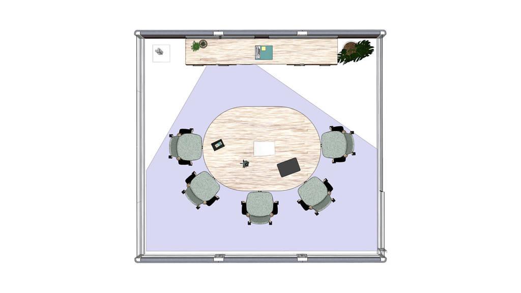Huddle Room floorplan