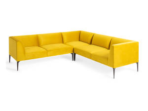 West Elm Work Mesa Sectional sofa