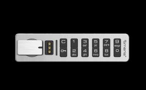 Schließfach-Kollektion Tastatur Details