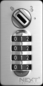 Schlüsselfreie Schließfächer