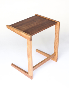 Hunt & Noyer mobile wood table