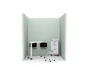Steelcase Health Separation ScreenPlanning Idea