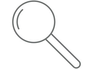 icon of a magnifying glass