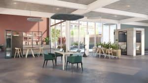 Workcafé setting