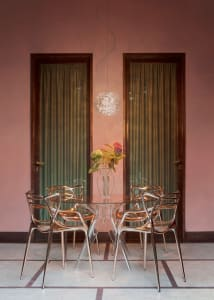 outdoor kartell chairs