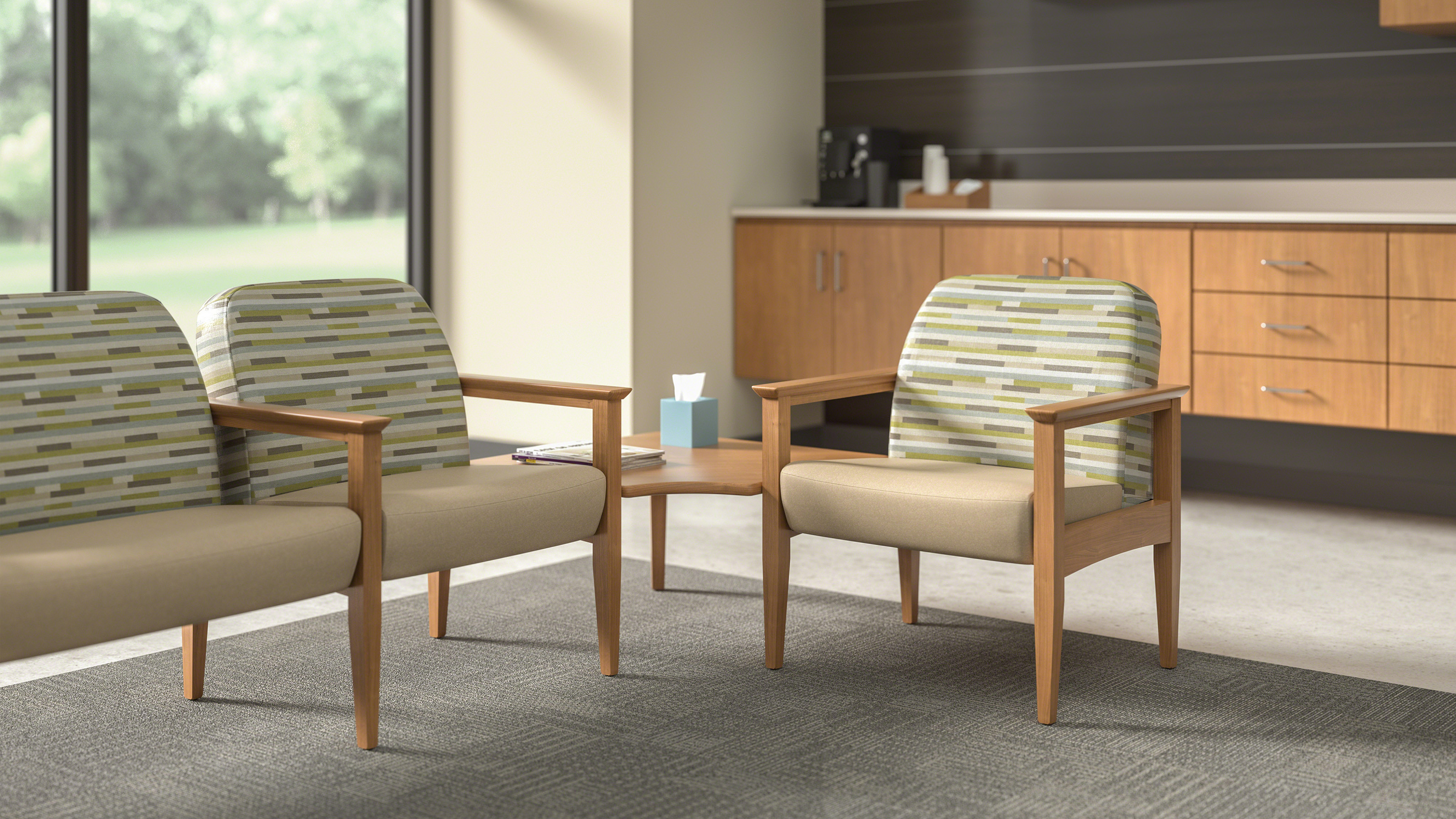 Outlook Lounge & Patient Room Chairs Steelcase