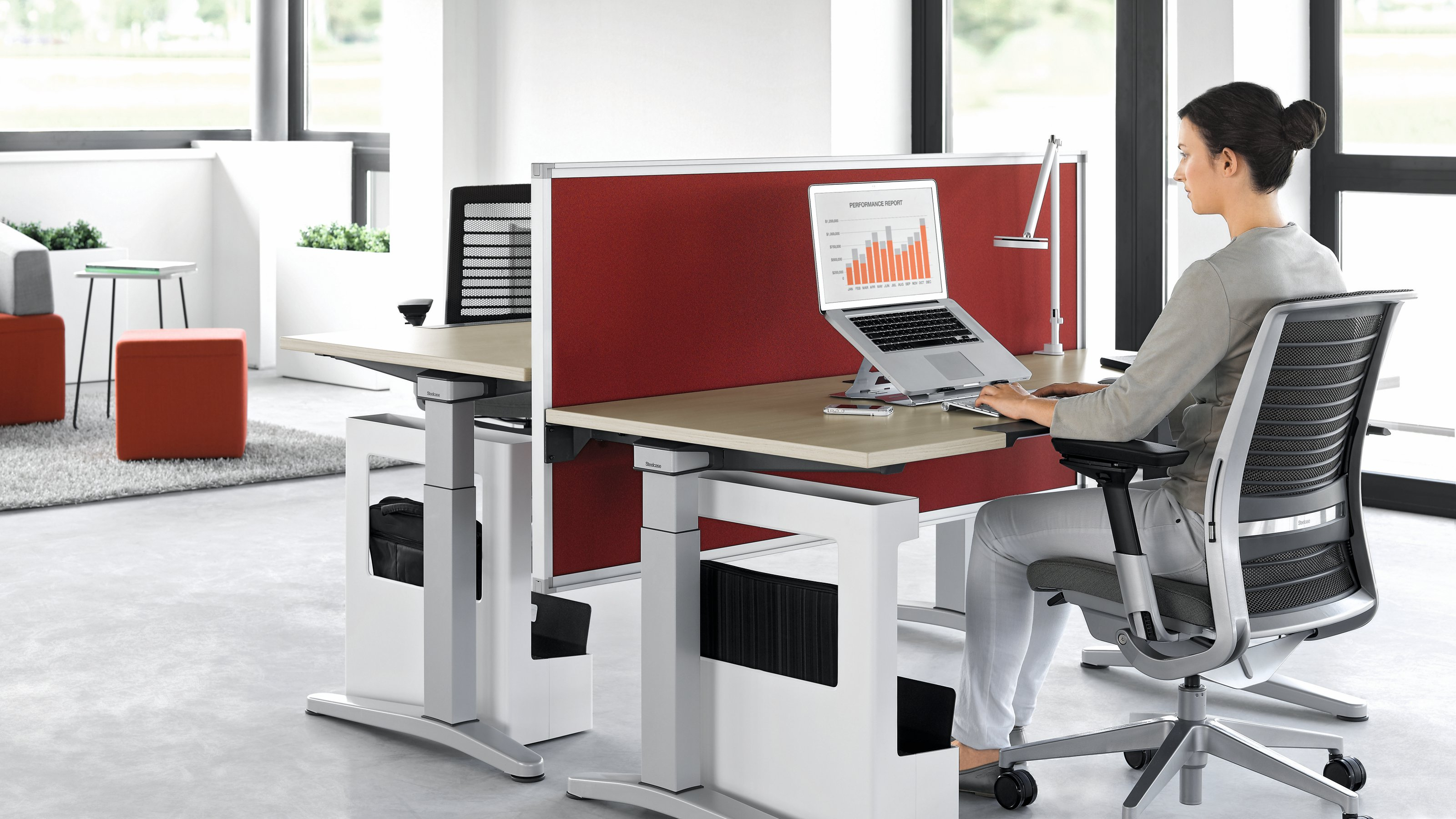 Steelcase Adjustable Desk