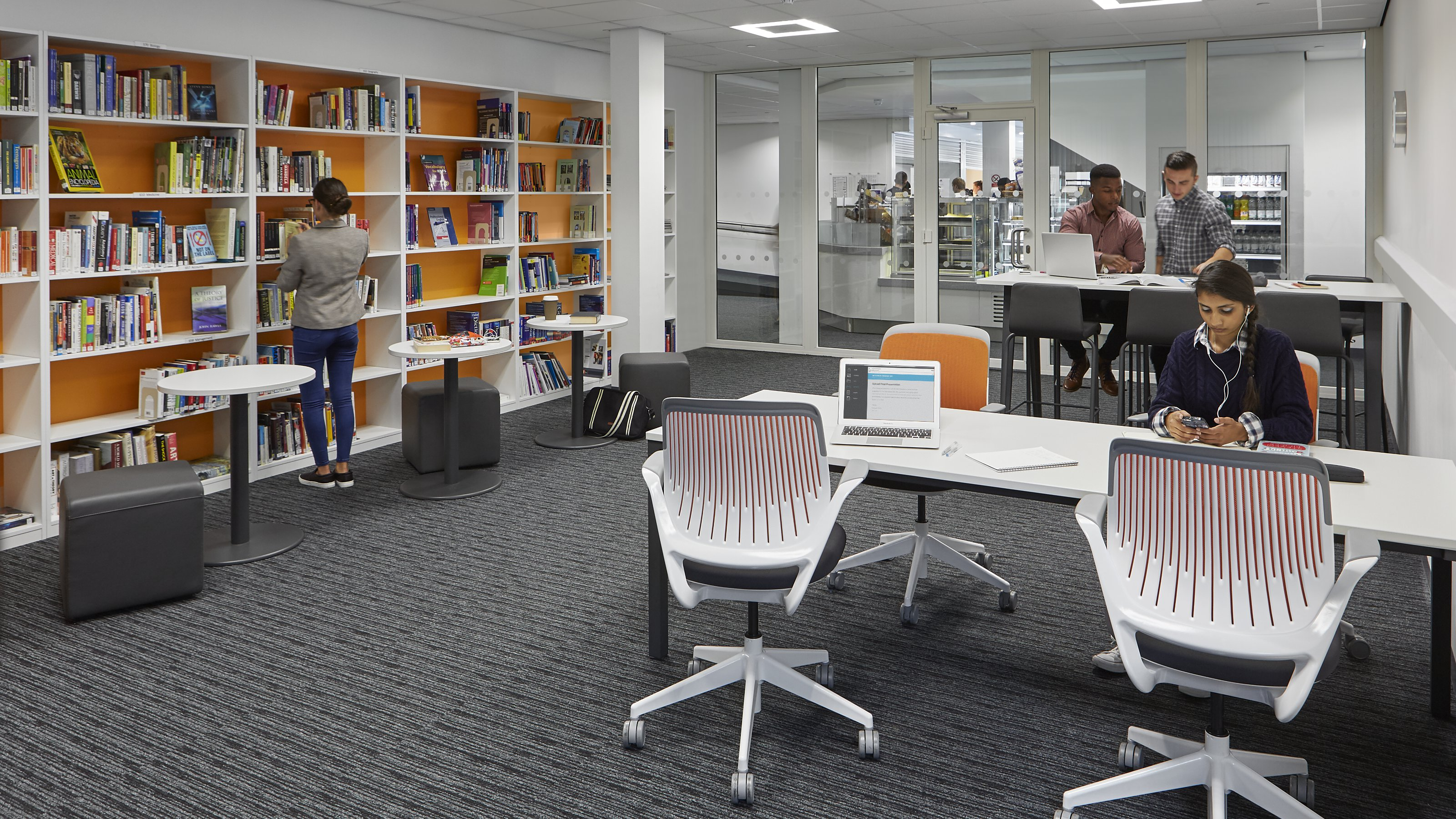 Innovative Library Amp Learning Space Design Steelcase
