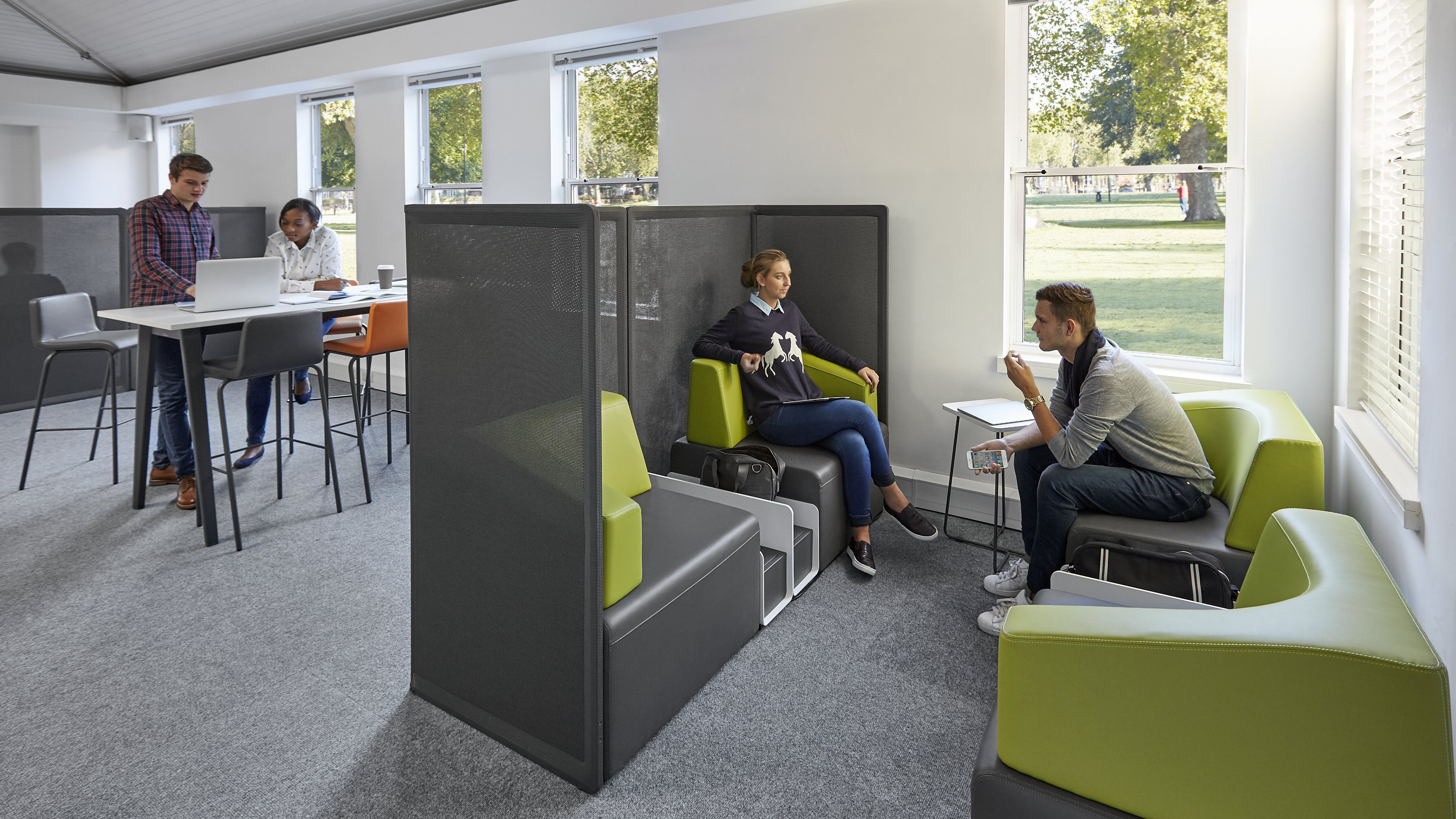 Furniture Layout Software Breakout Spaces For Learning Environments Steelcase