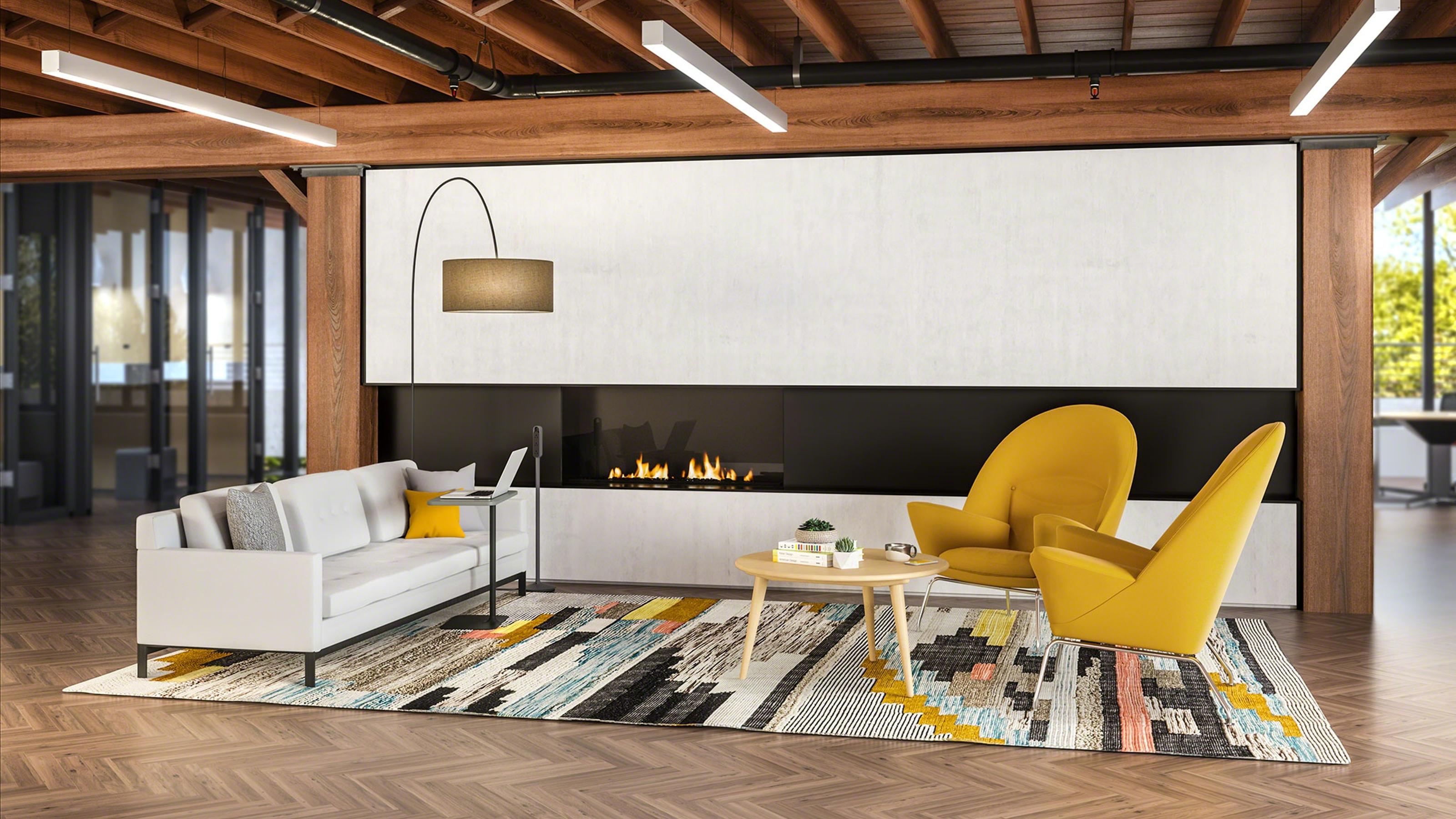 Inspiring Spaces Reinvigorate The Office