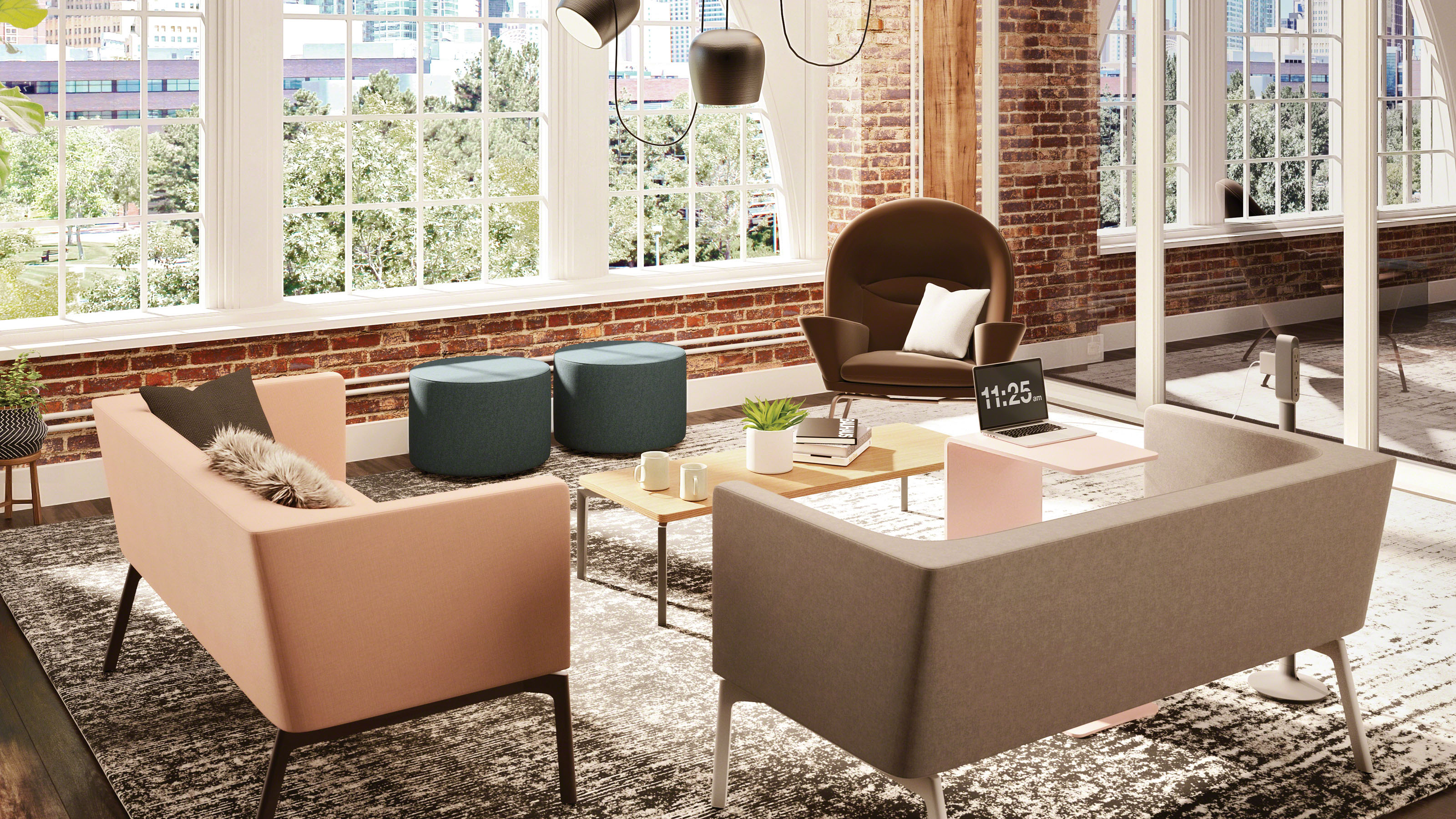 Changes to fices in a Technically Advanced Workplace Steelcase