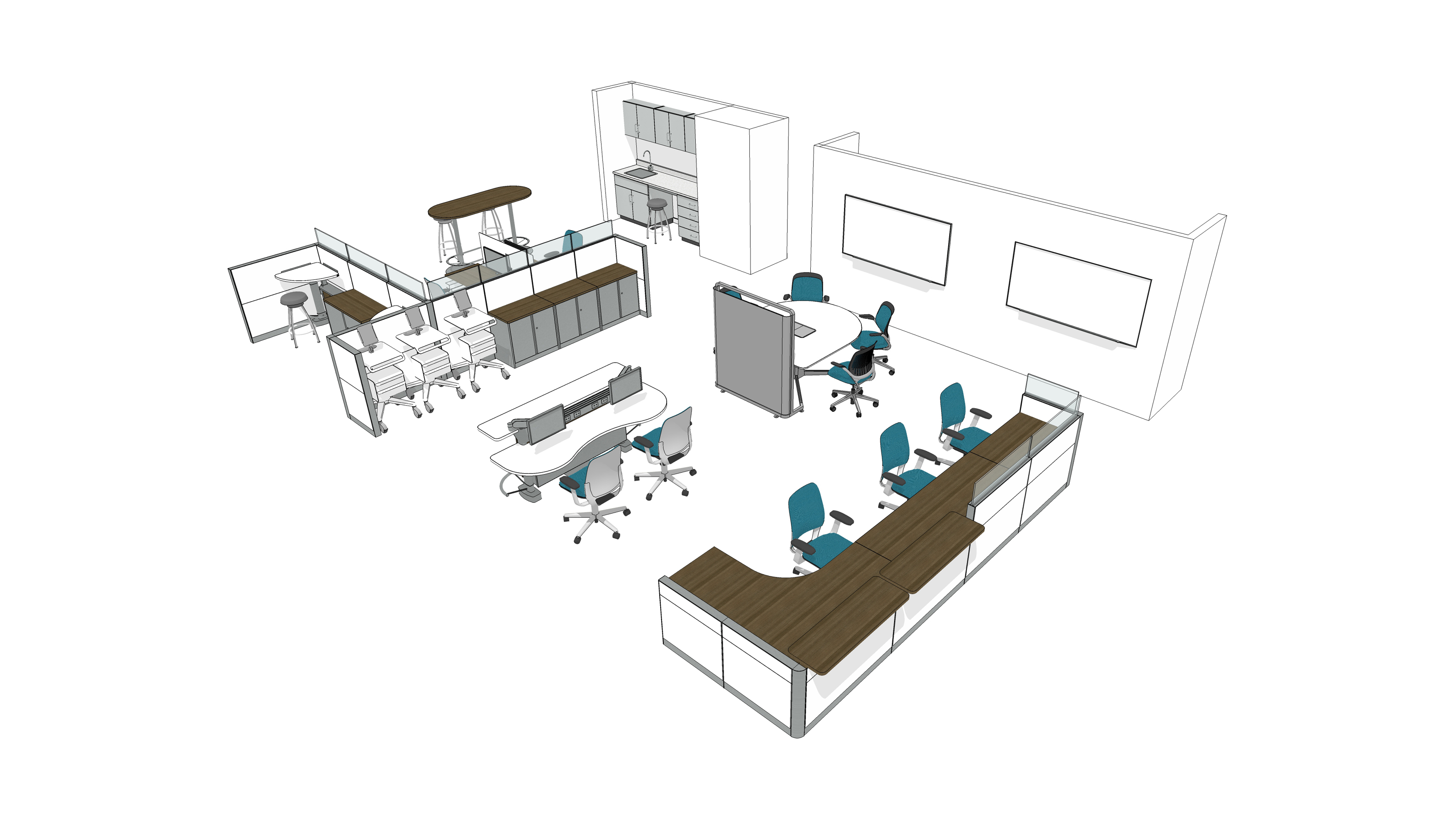 WS9HM8NF montage office workstation & panel systems steelcase  at panicattacktreatment.co