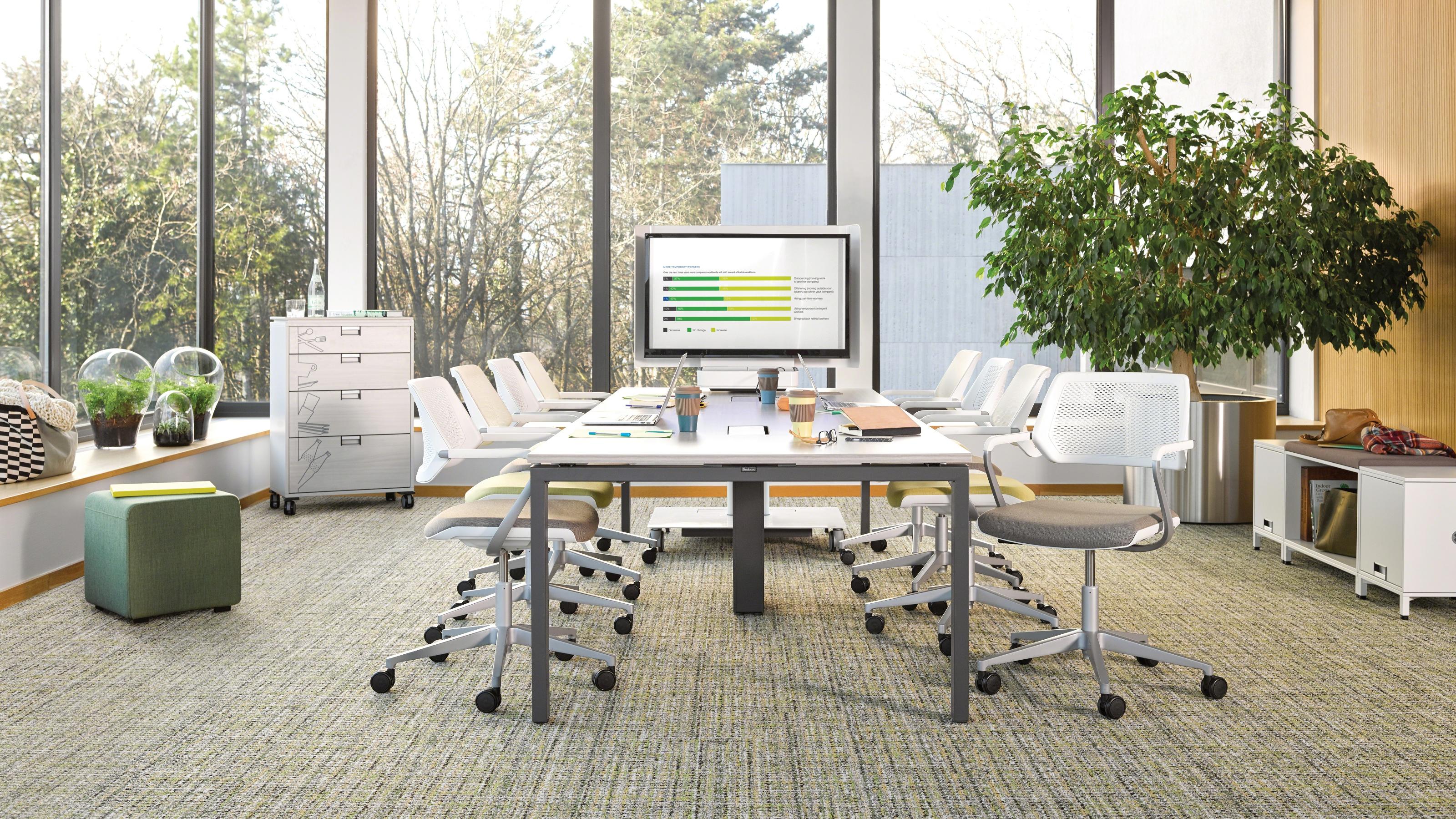Amazing 30 Steelcase Office Furniture Decorating Design