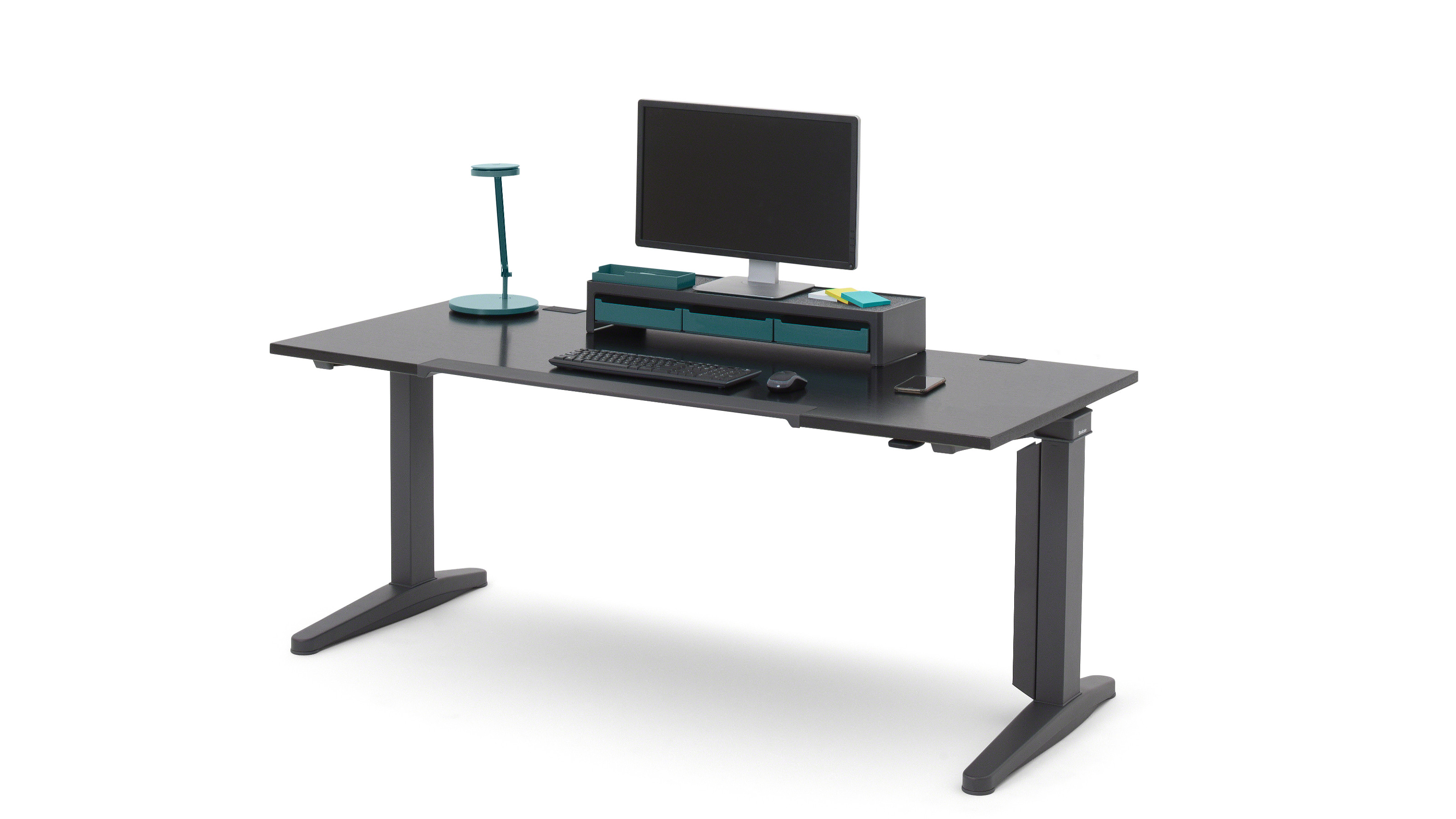Ology bureaux et bench steelcase