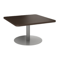 groupwork square table in chocolate walnut