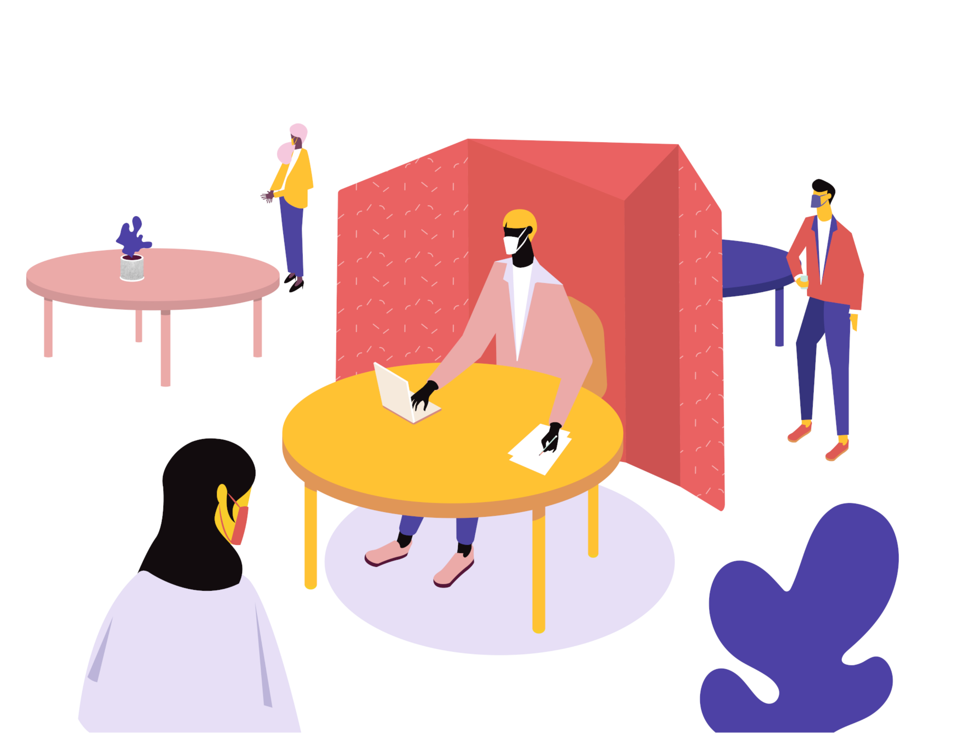 illustration for privacy