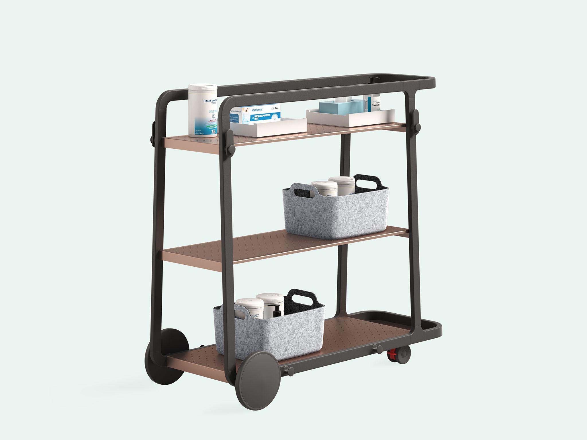 Steelcase Flex Team Carts