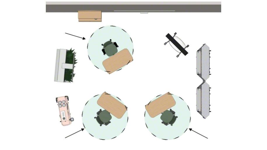 floorplan overhead view