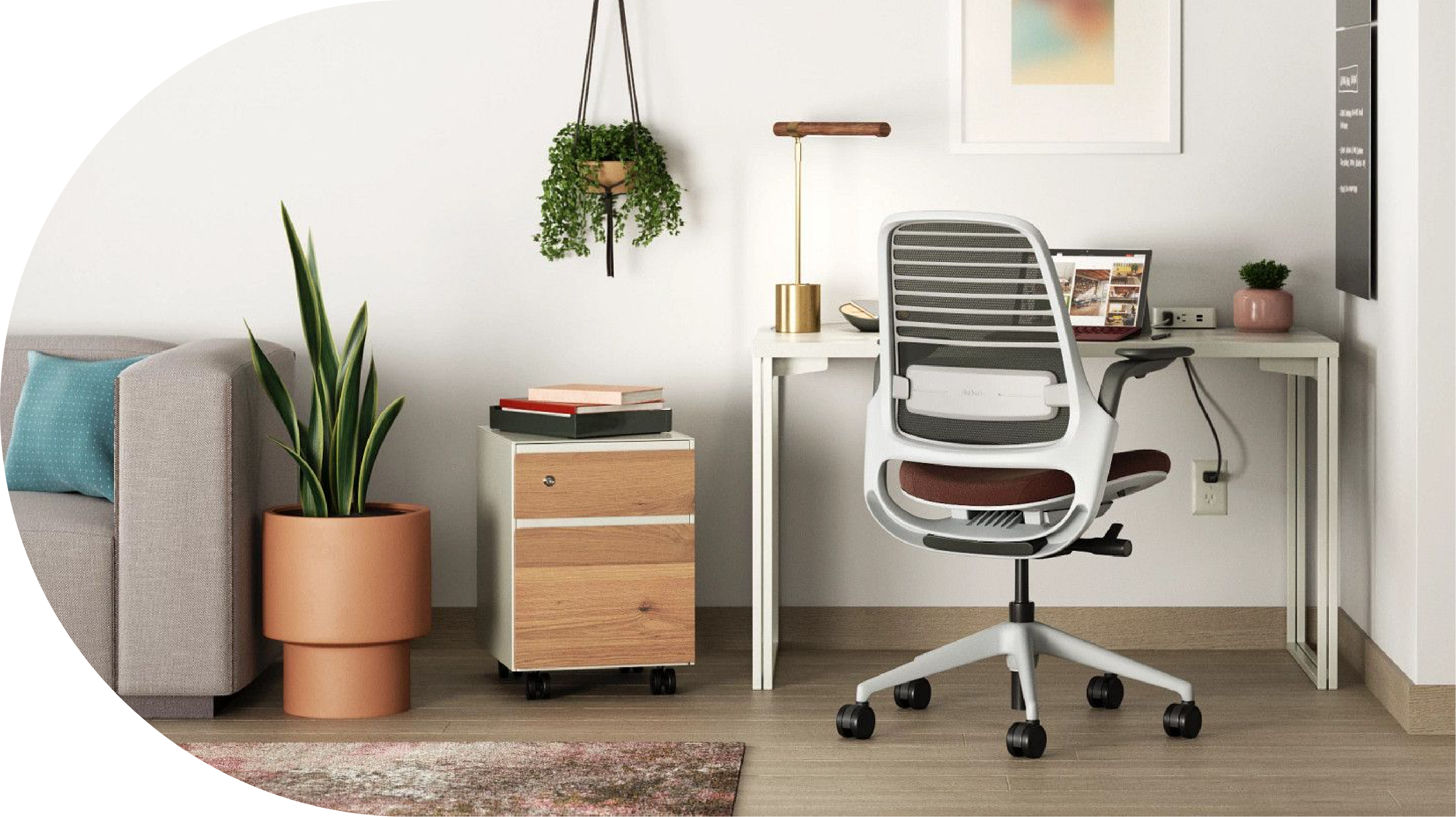 Designing A Home Office That Works Steelcase