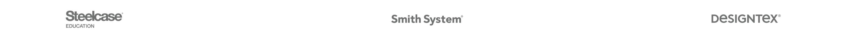 steelcase smith systems and designtex logos